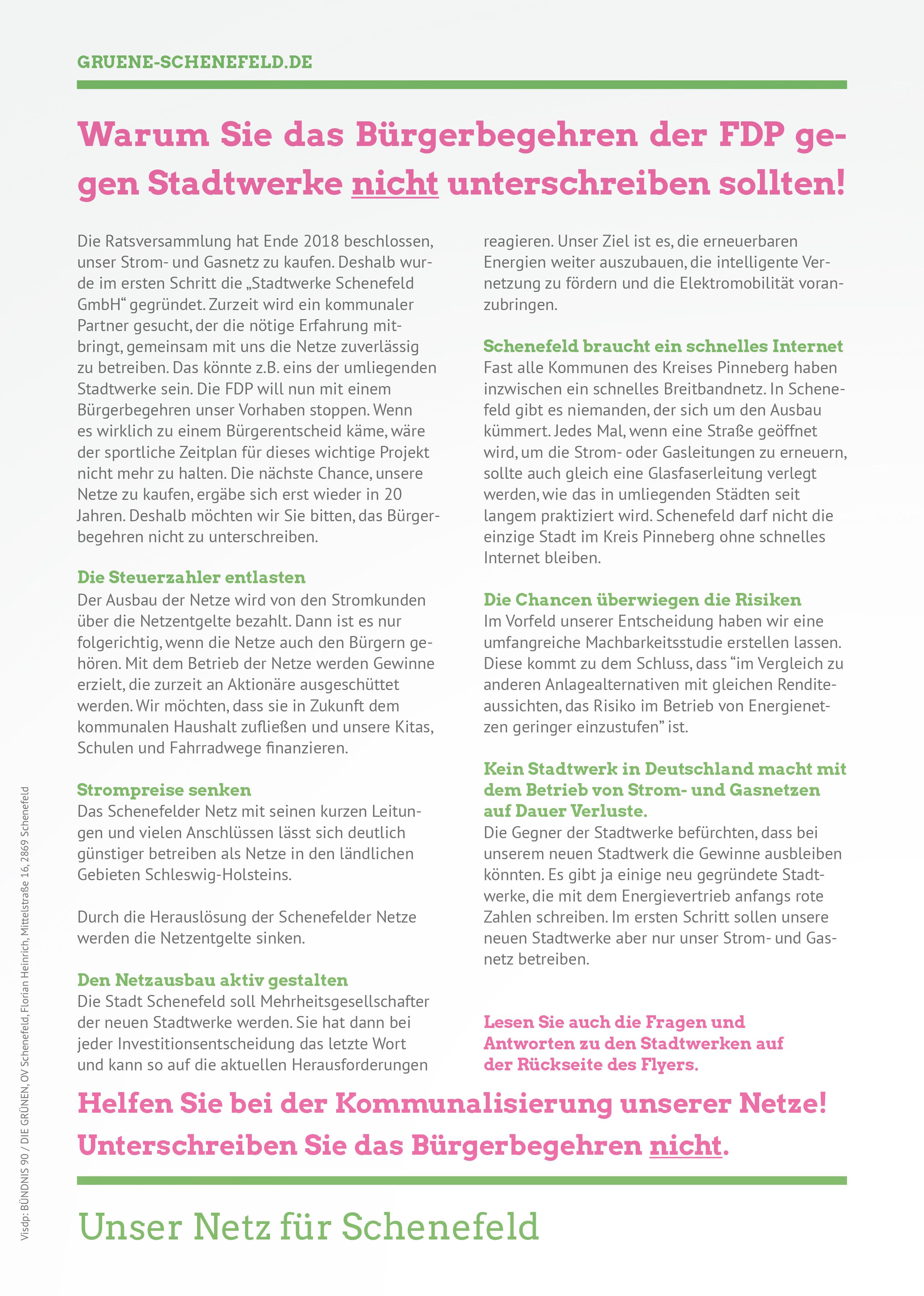 Fragen & Antworten zur Gründung von Stadtwerken